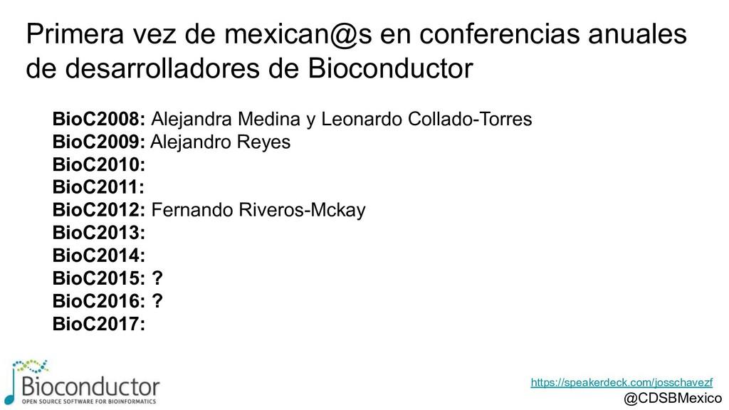 BioC2008: Alejandra Medina y Leonardo Collado-T...