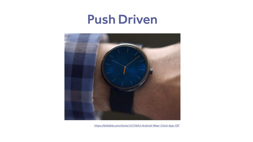 Push Driven https://dribbble.com/shots/1473664-...