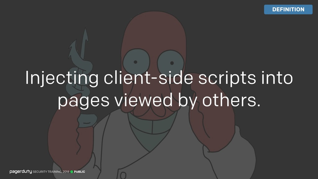 Injecting client-side scripts into pages viewed...