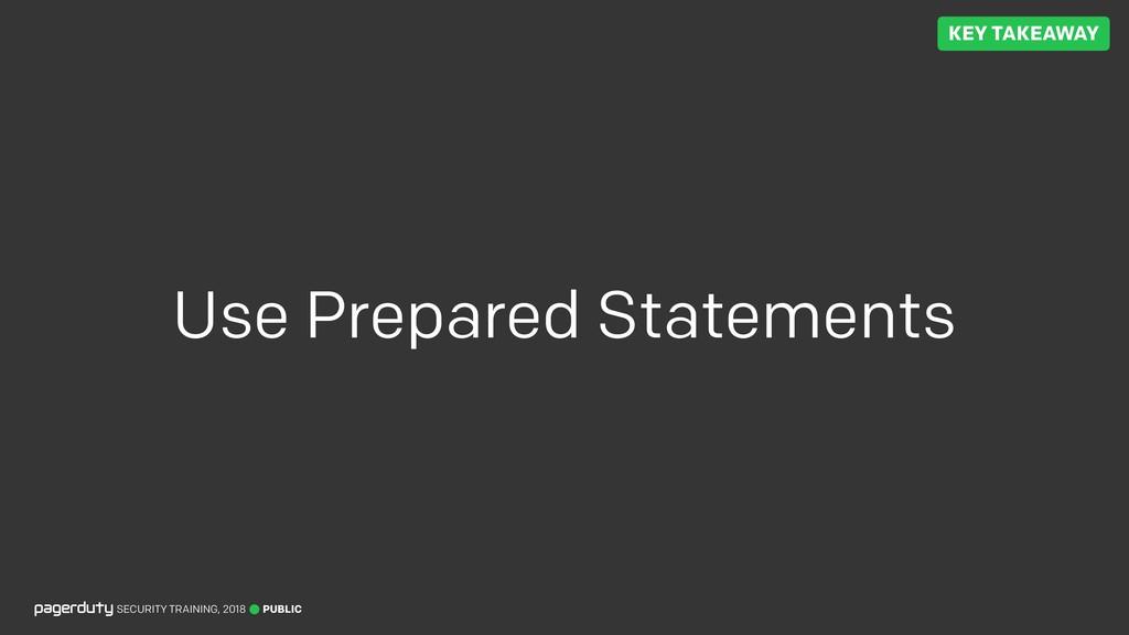 PUBLIC SECURITY TRAINING, 2018 Use Prepared Sta...
