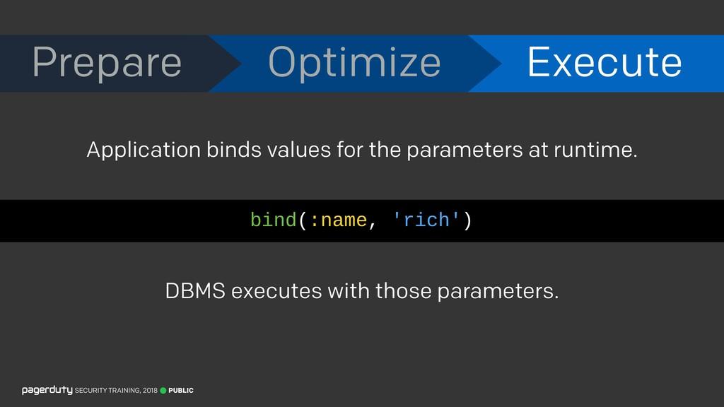 Prepare Optimize Execute PUBLIC SECURITY TRAINI...