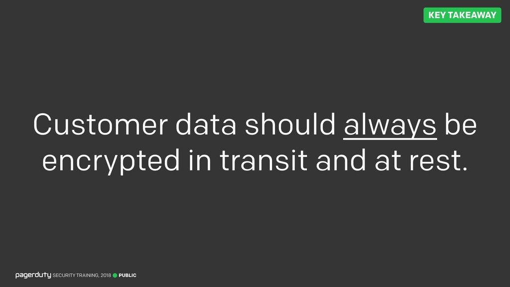 PUBLIC SECURITY TRAINING, 2018 Customer data sh...