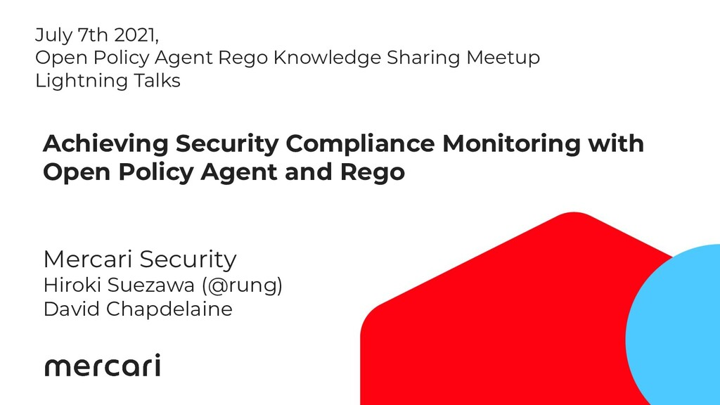 1 Achieving Security Compliance Monitoring with...