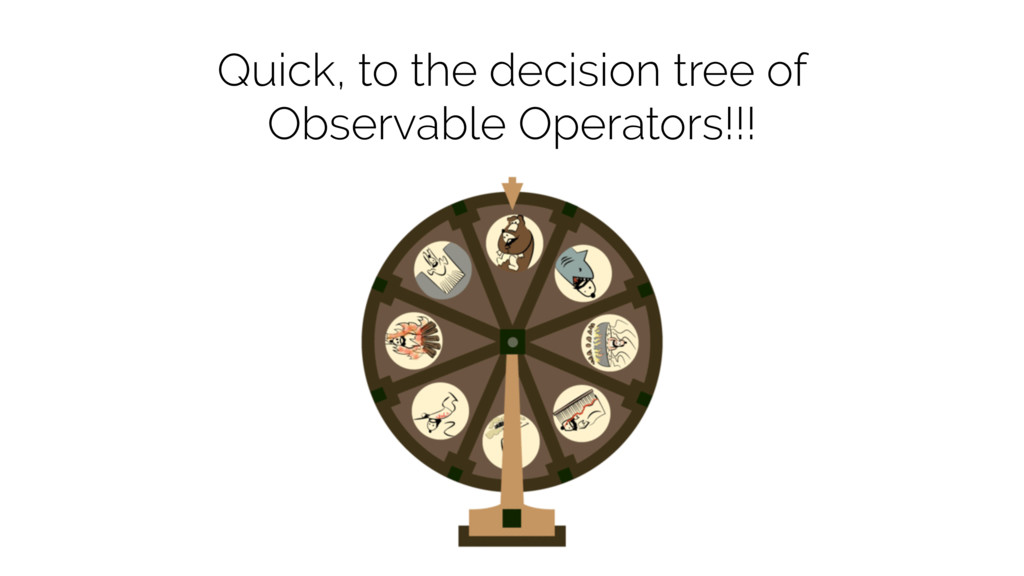 Quick, to the decision tree of Observable Opera...
