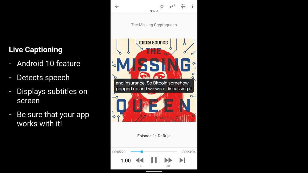 Live Captioning - Android 10 feature - Detects ...