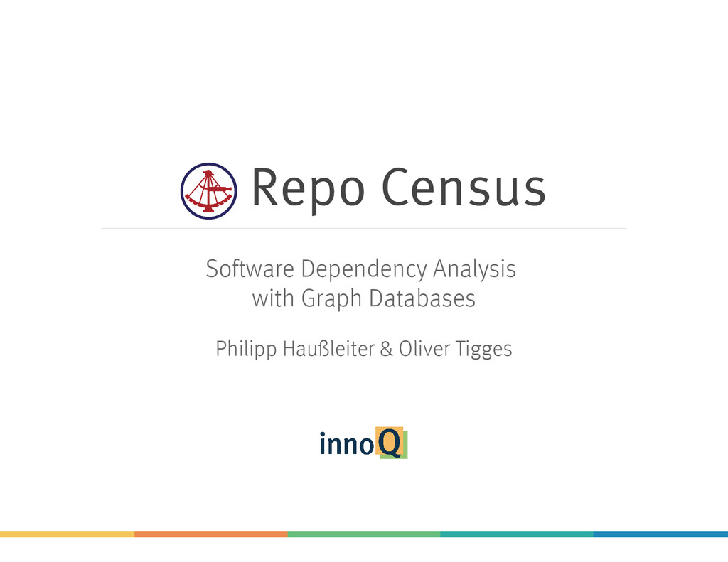 Repo Census Software Dependency Analysis with G...