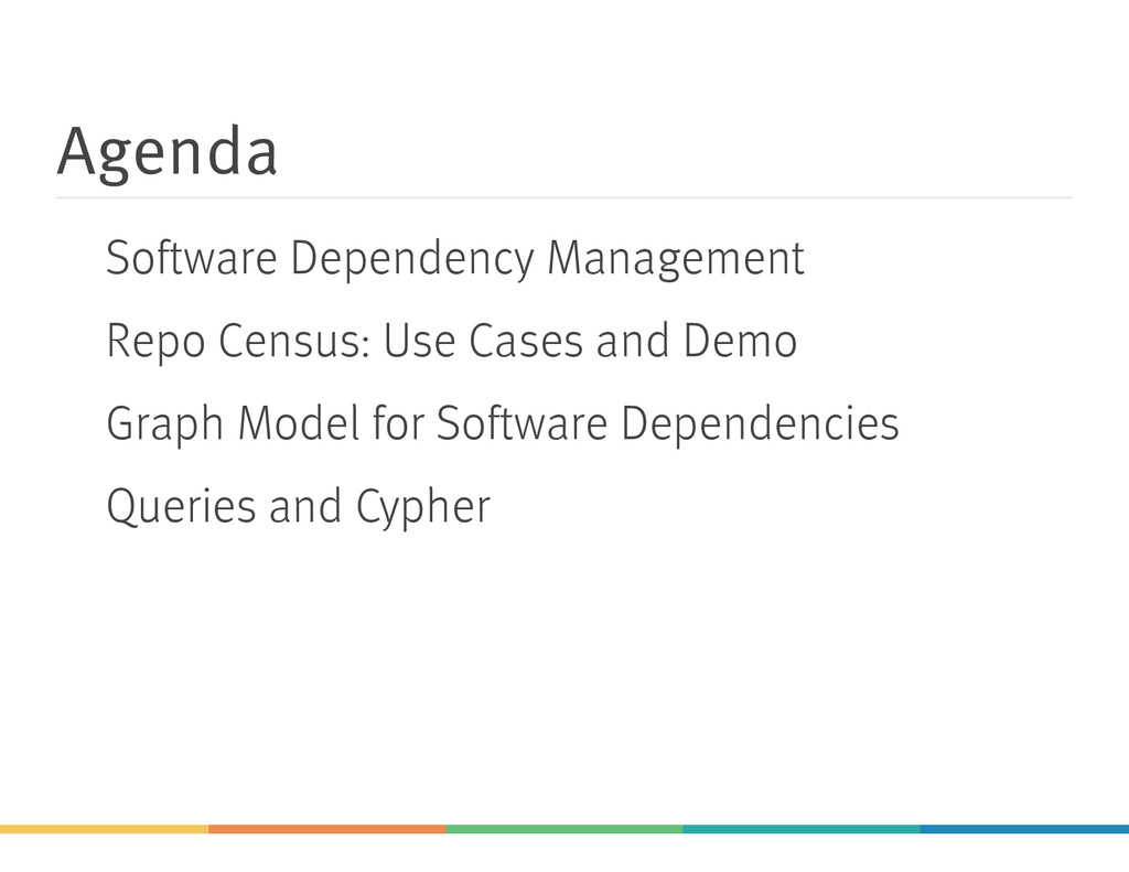 Agenda Software Dependency Management Repo Cens...