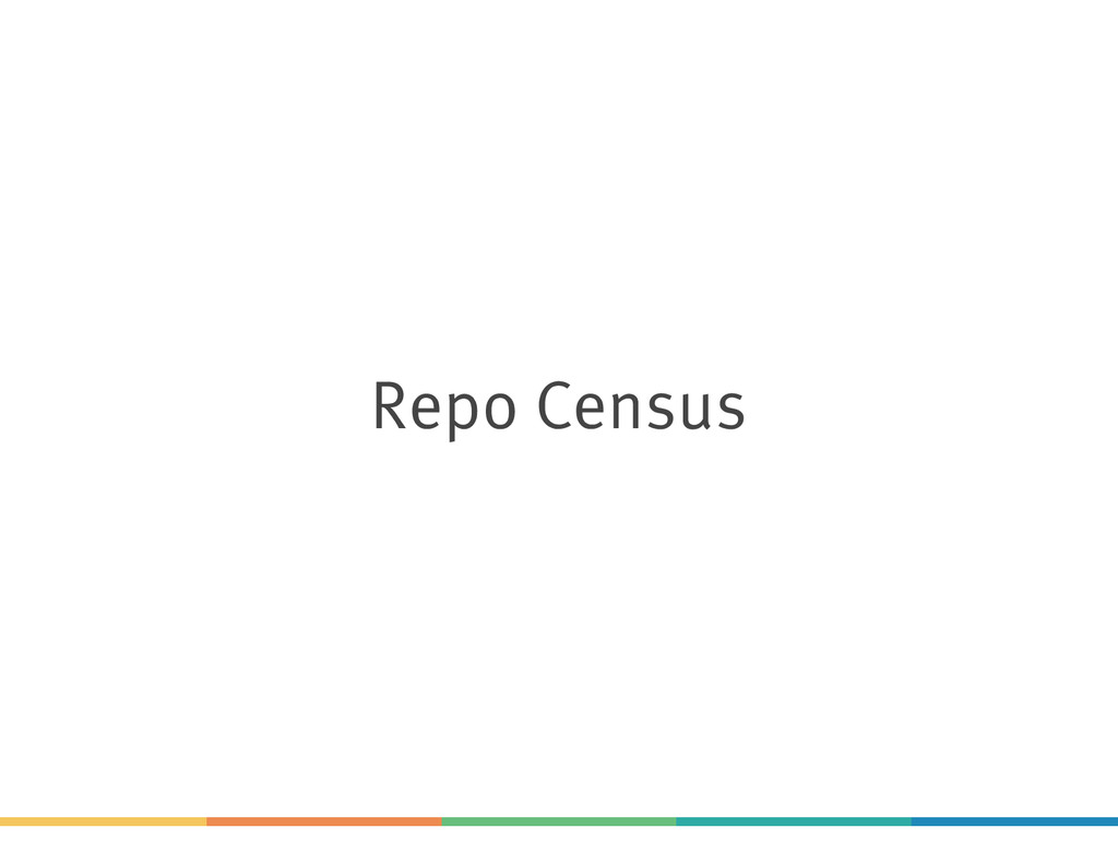 Repo Census