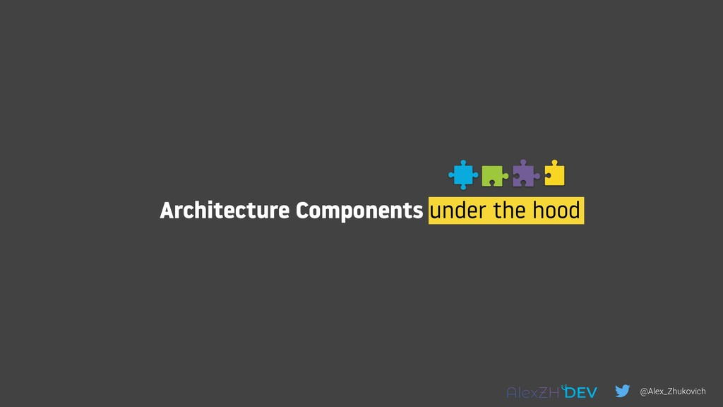 Architecture Components under the hood @Alex_Zh...