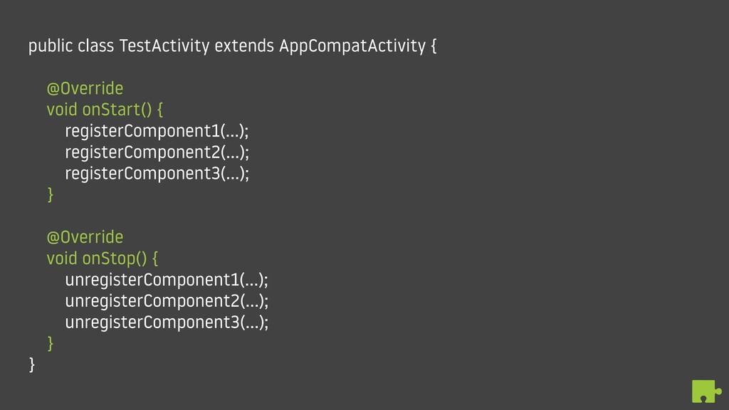 public class TestActivity extends AppCompatActi...