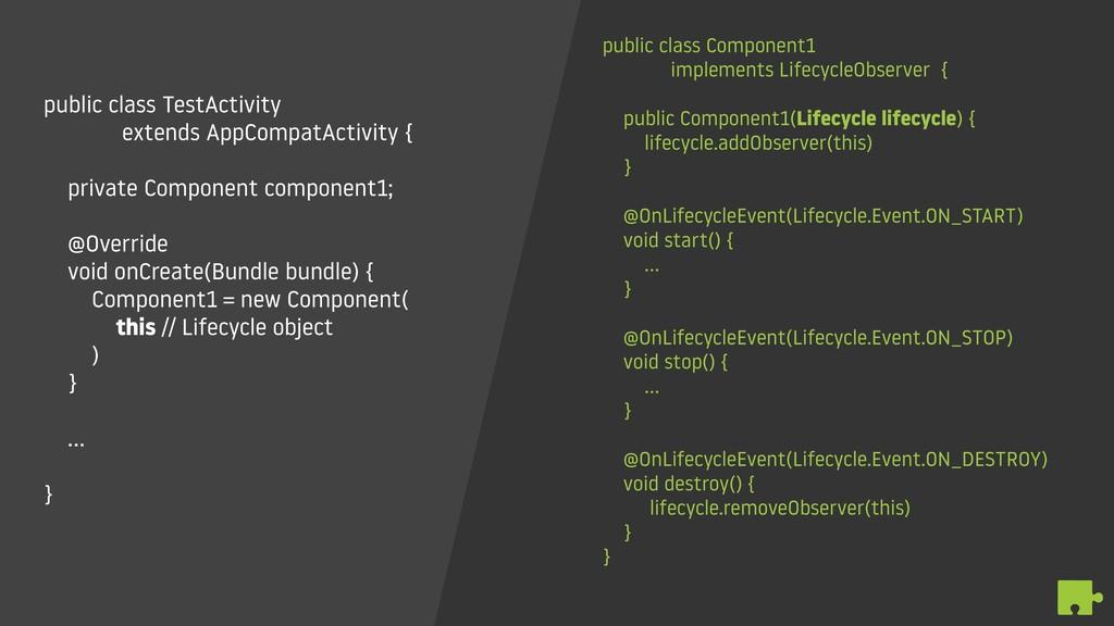 public class TestActivity  extends AppCompatAc...