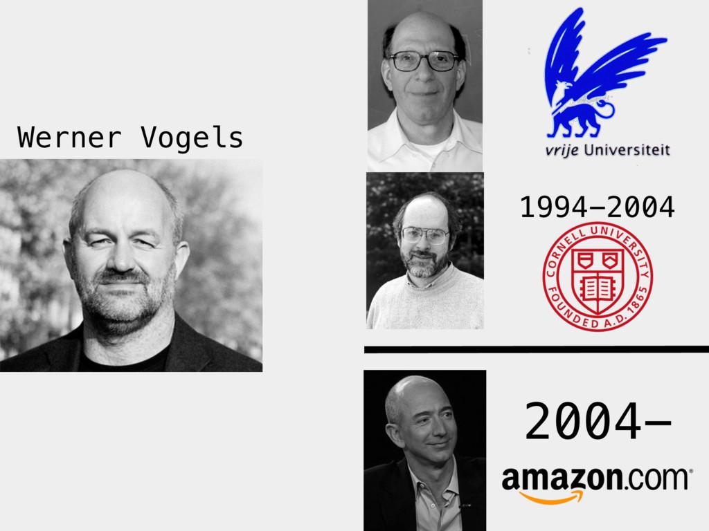 1994-2004 2004- Werner Vogels