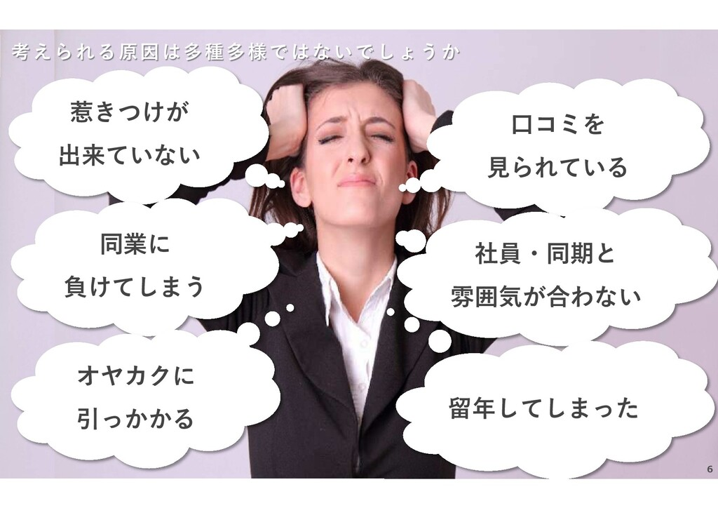 NEO CAREER CO., LTD. All Rights Reserved. 考えられる...