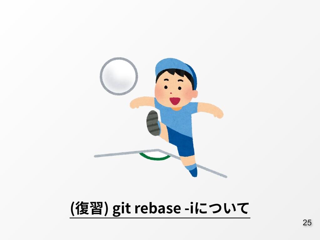 25 (復習) git rebase -iについて