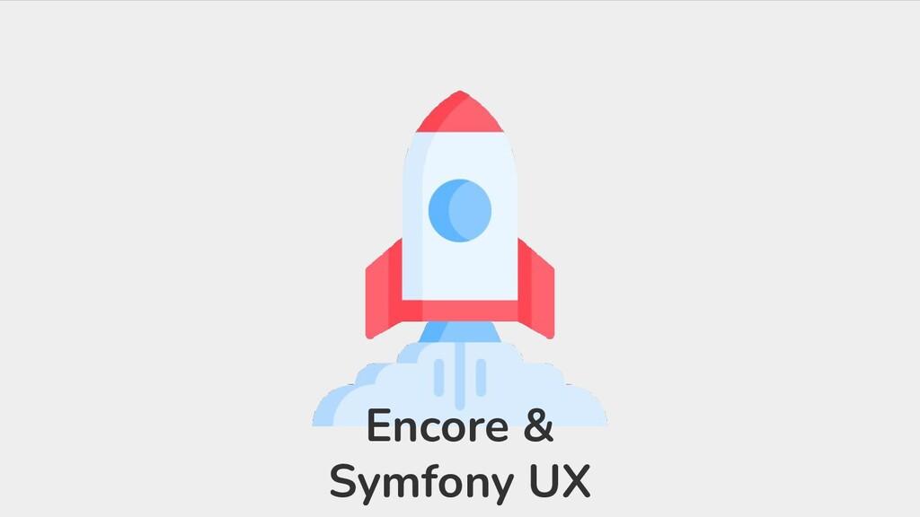 Encore & Symfony UX