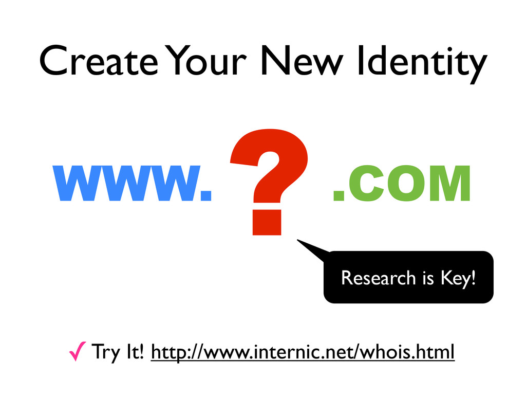 Create Your New Identity ? WWW. .COM ✓Try It! h...