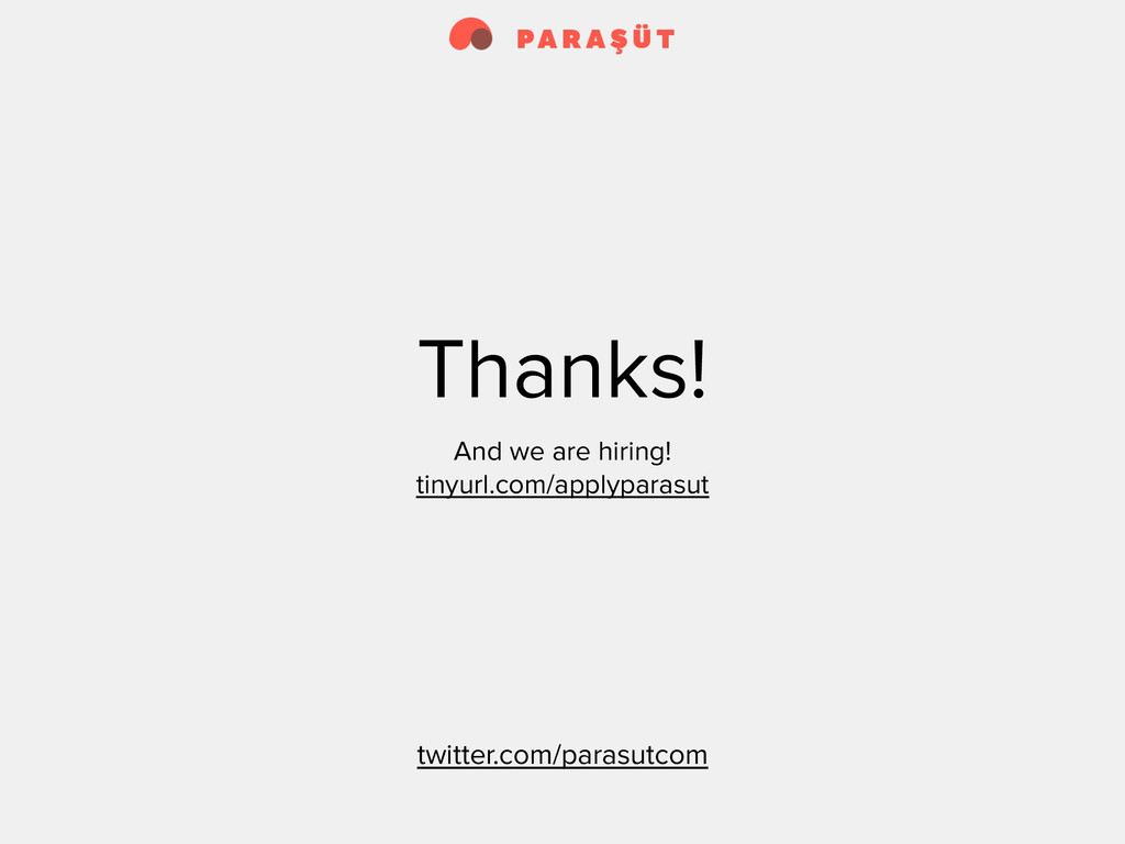 Thanks! And we are hiring! tinyurl.com/applypar...