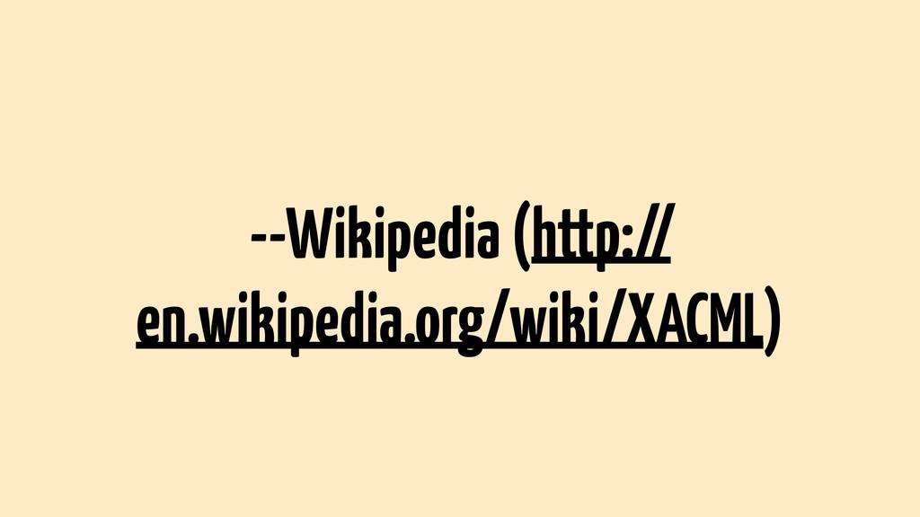--Wikipedia (http:// en.wikipedia.org/wiki/XACM...