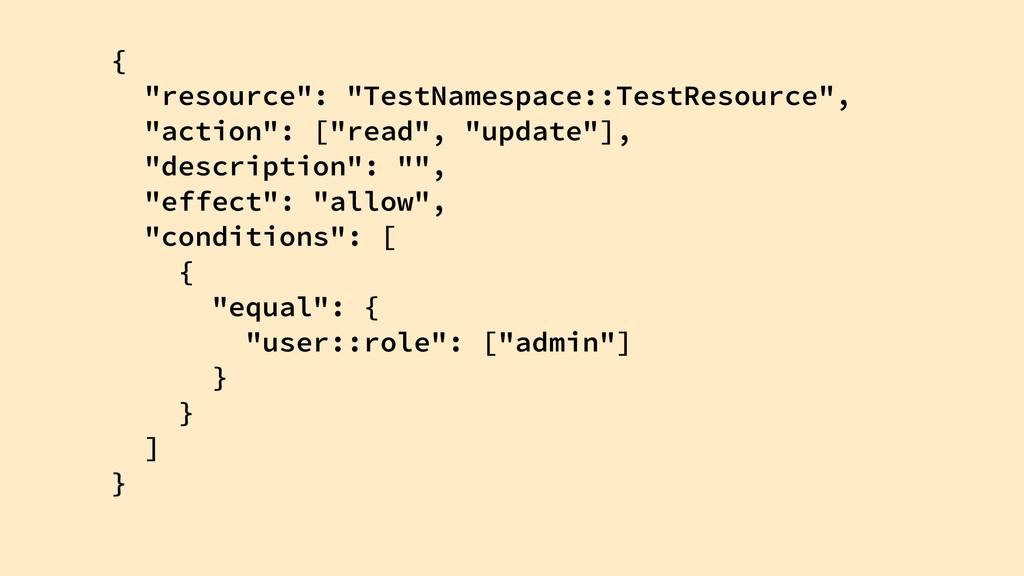 "{ ""resource"": ""TestNamespace::TestResource"", ""a..."