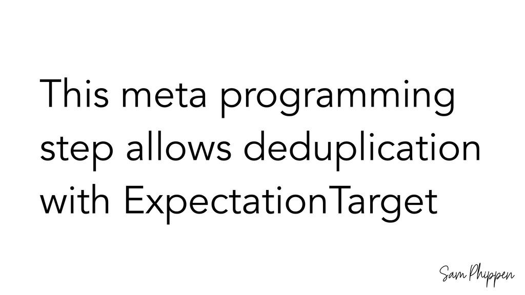 Sam Phippen This meta programming step allows d...
