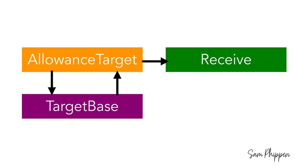 Sam Phippen AllowanceTarget TargetBase Receive