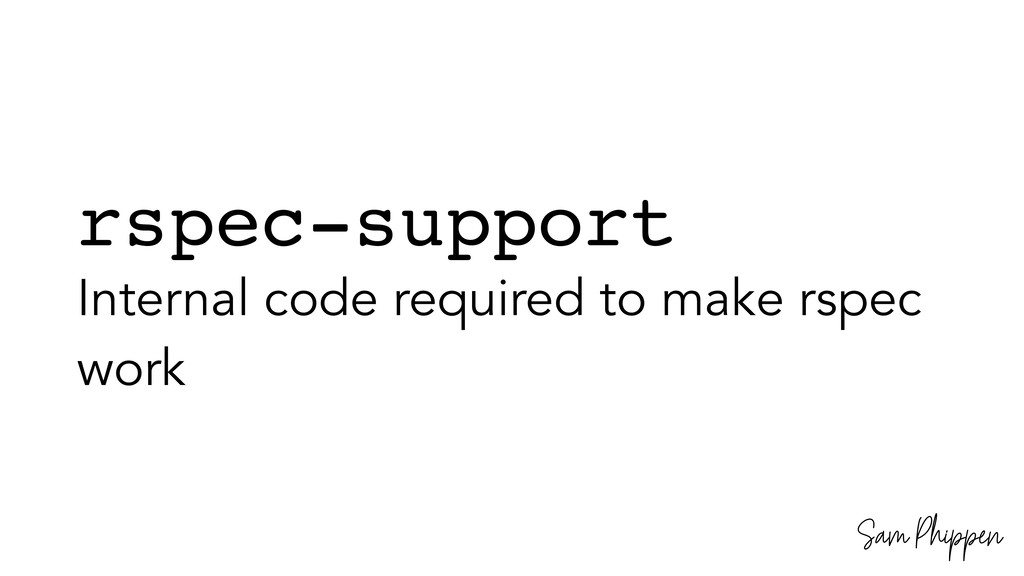 Sam Phippen rspec-support Internal code require...