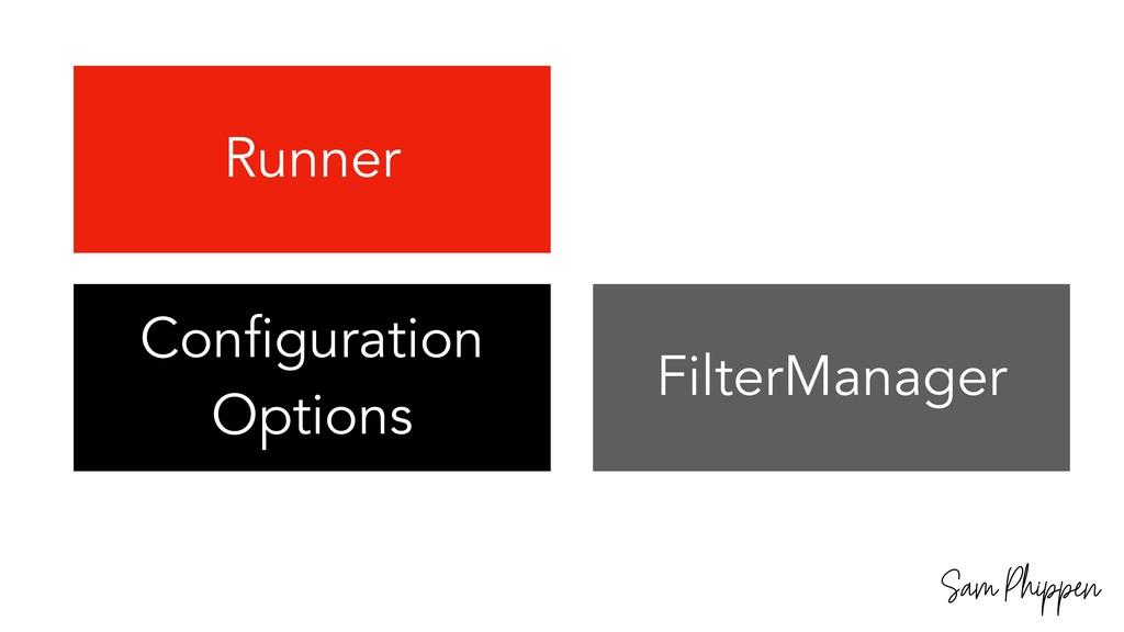 Sam Phippen Runner Configuration Options Filter...