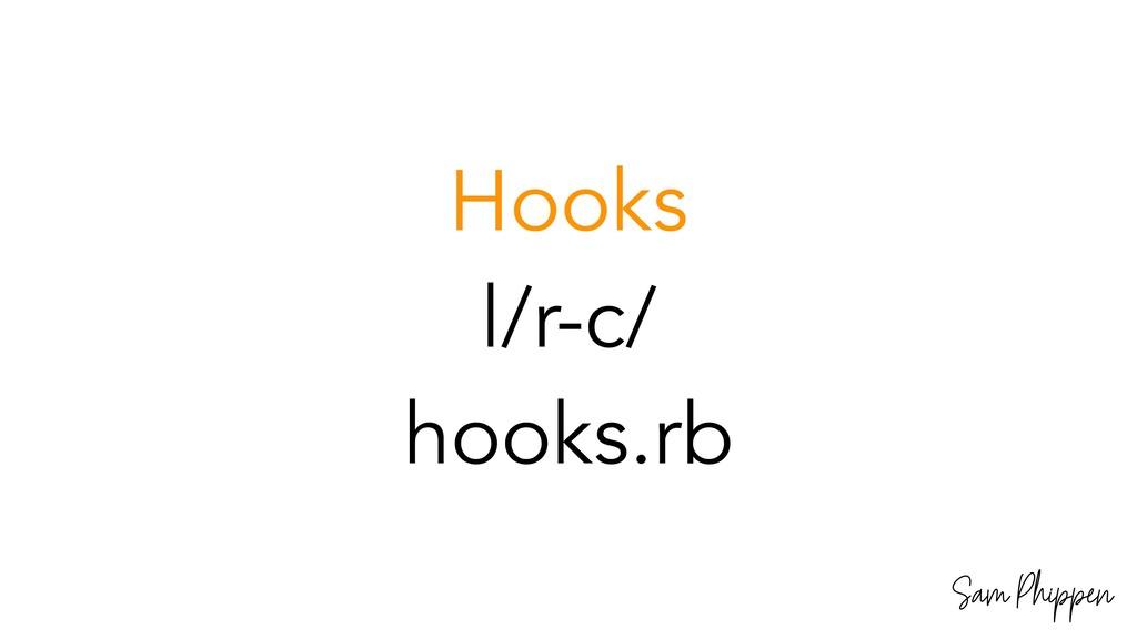 Sam Phippen Hooks l/r-c/ hooks.rb