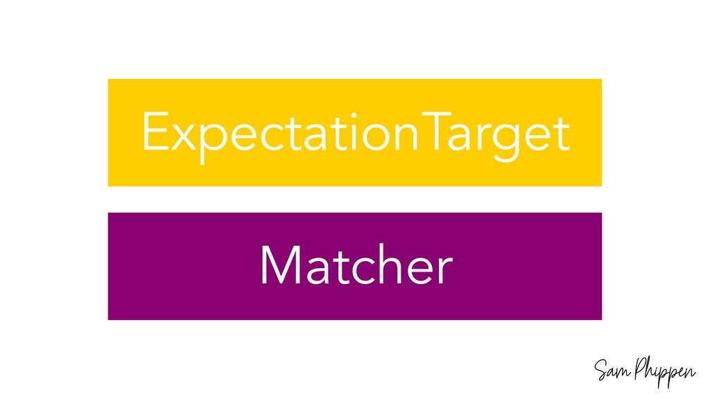 Sam Phippen ExpectationTarget Matcher