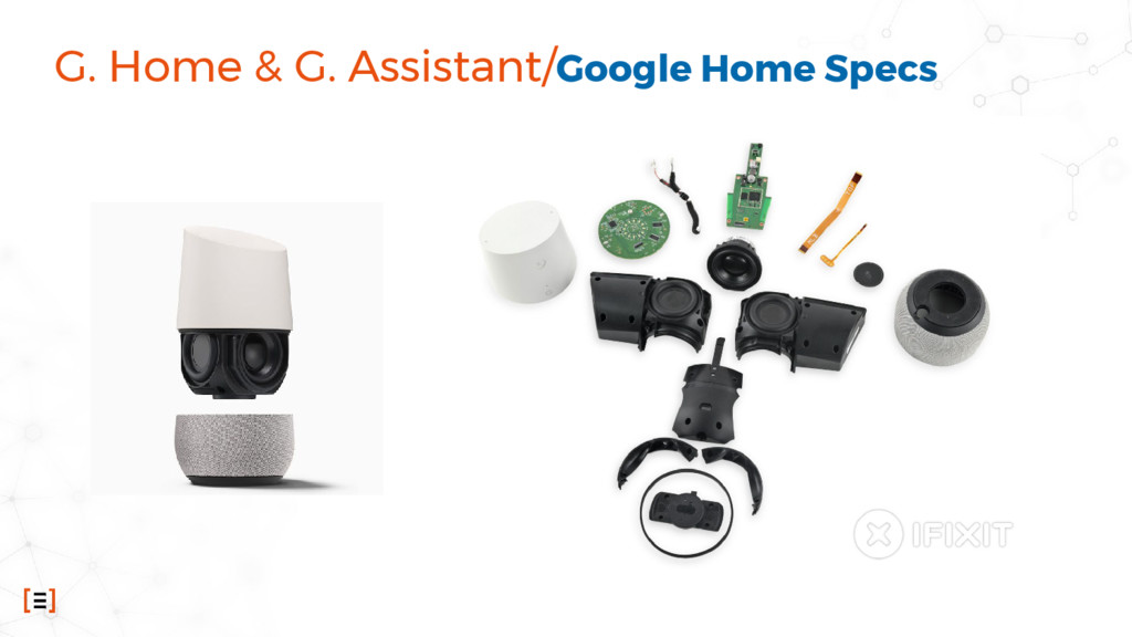 G. Home & G. Assistant/Google Home Specs
