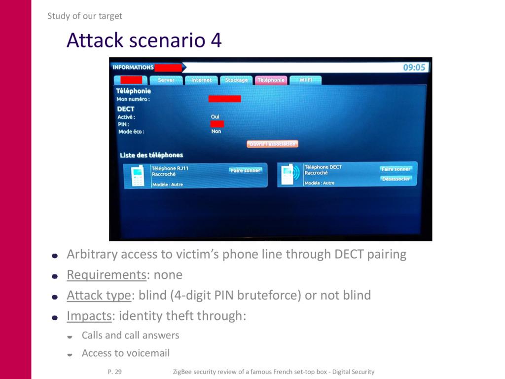 Attack scenario 4 Arbitrary access to victim's ...