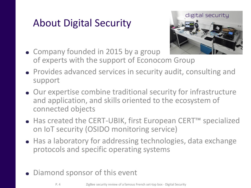 About Digital Security Company founded in 2015 ...