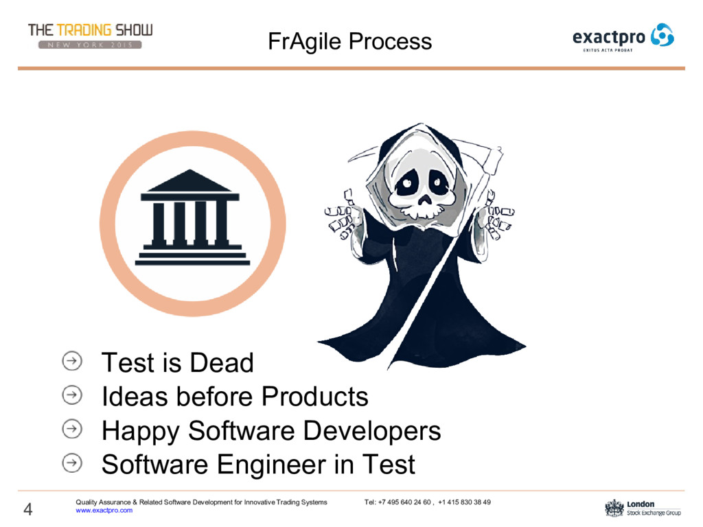 4 FrAgile Process Test is Dead Ideas before Pro...