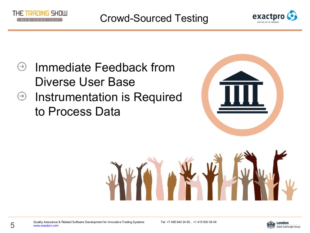 5 Crowd-Sourced Testing Immediate Feedback from...