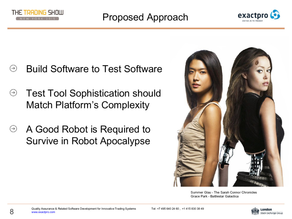 8 Proposed Approach Build Software to Test Soft...