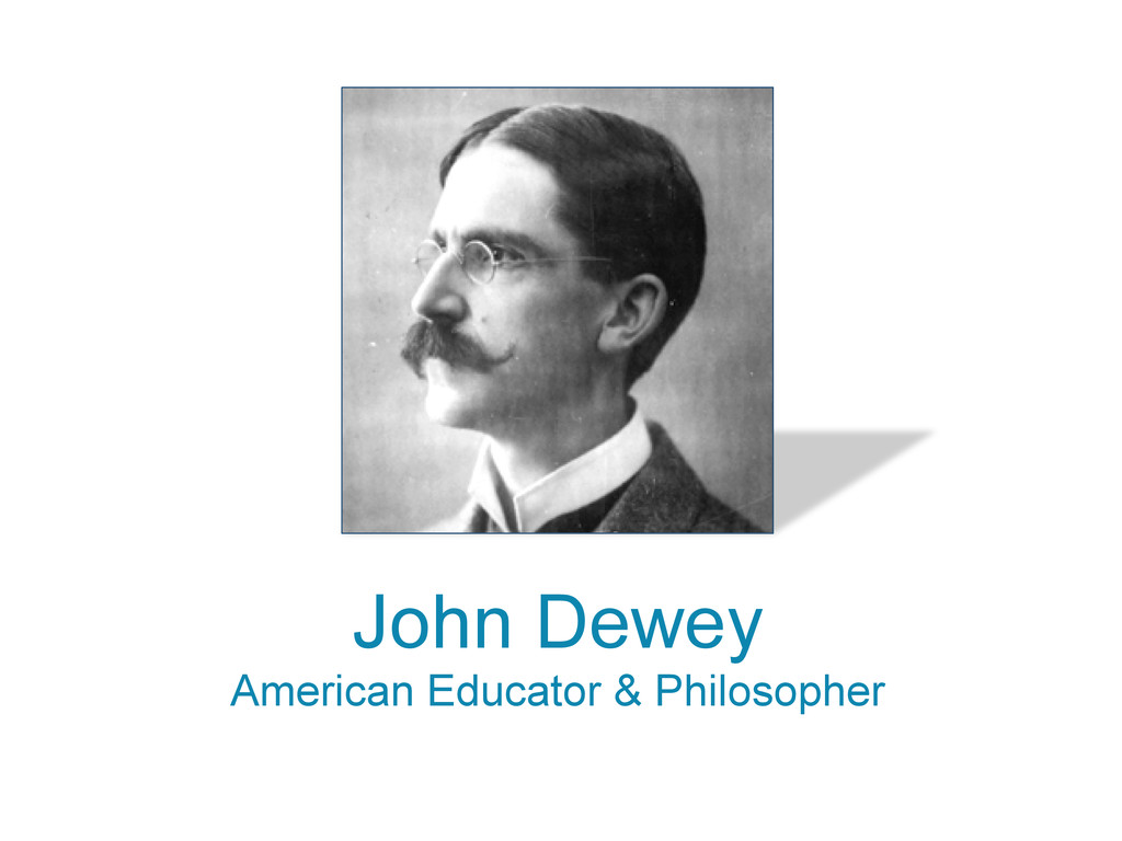 John Dewey American Educator & Philosopher