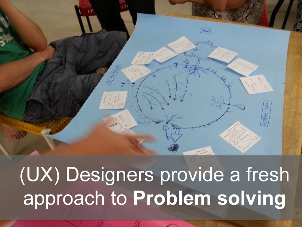 (UX) Designers provide a fresh approach to Prob...
