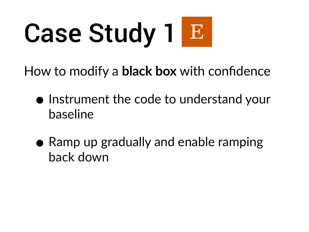Case Study 1 How to modify a black box with con...
