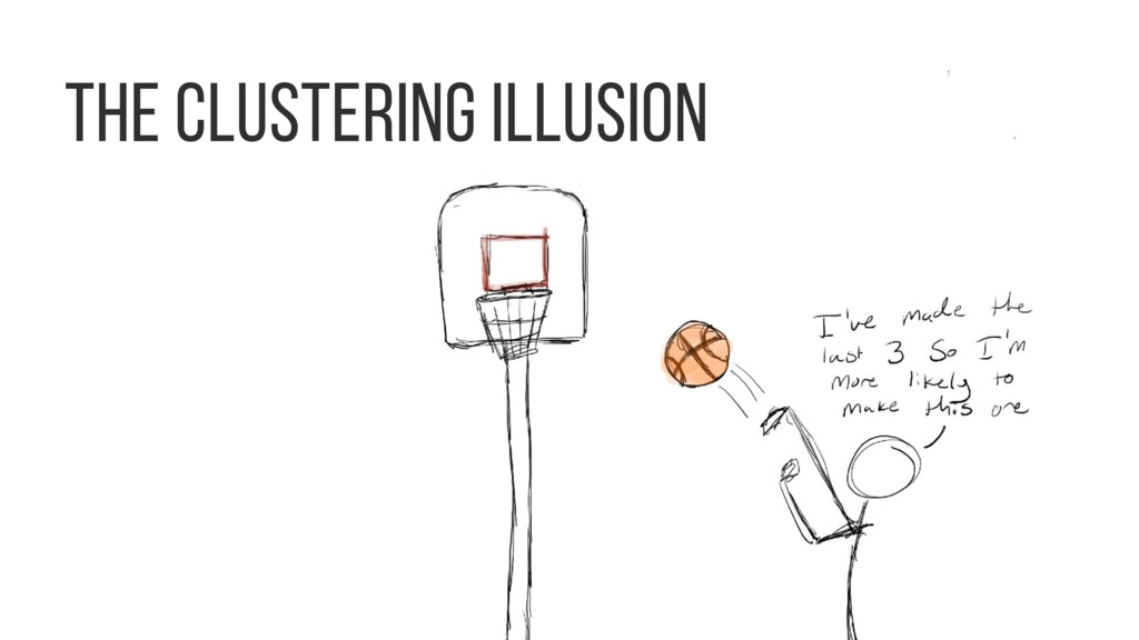 The clustering illusion