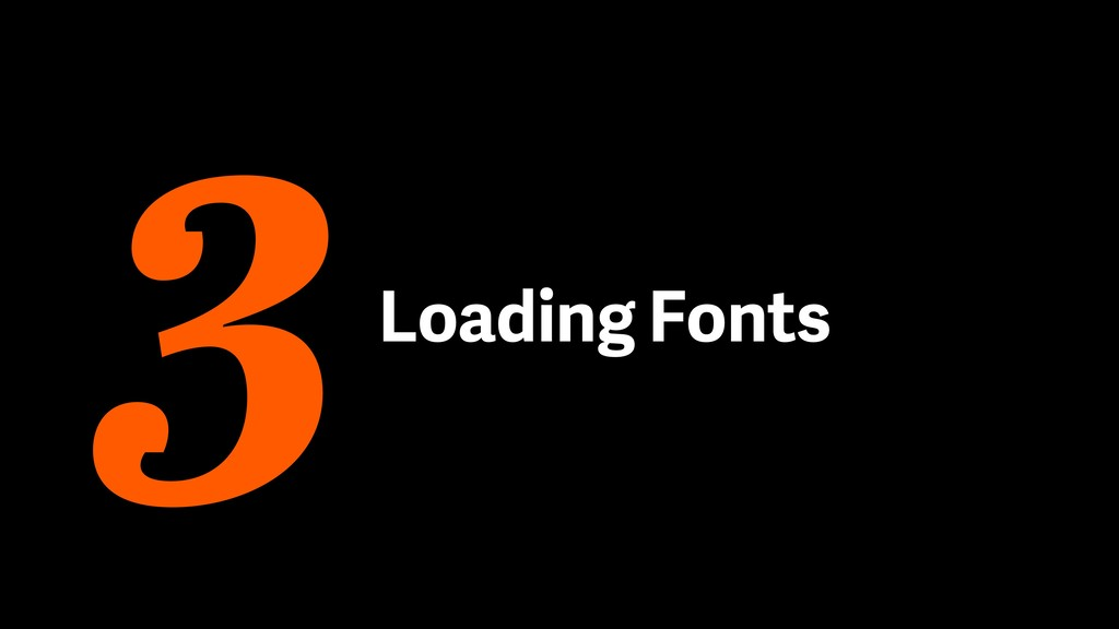Loading Fonts 3