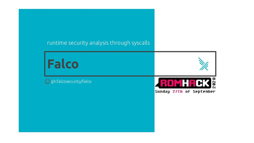 Falco runtime security analysis through syscall...