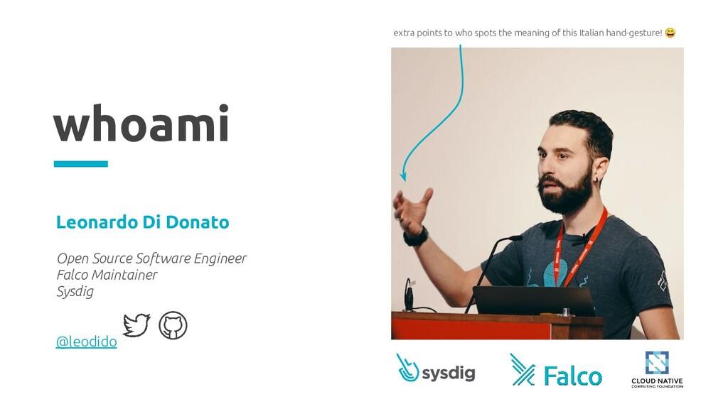 whoami Leonardo Di Donato Open Source Software ...