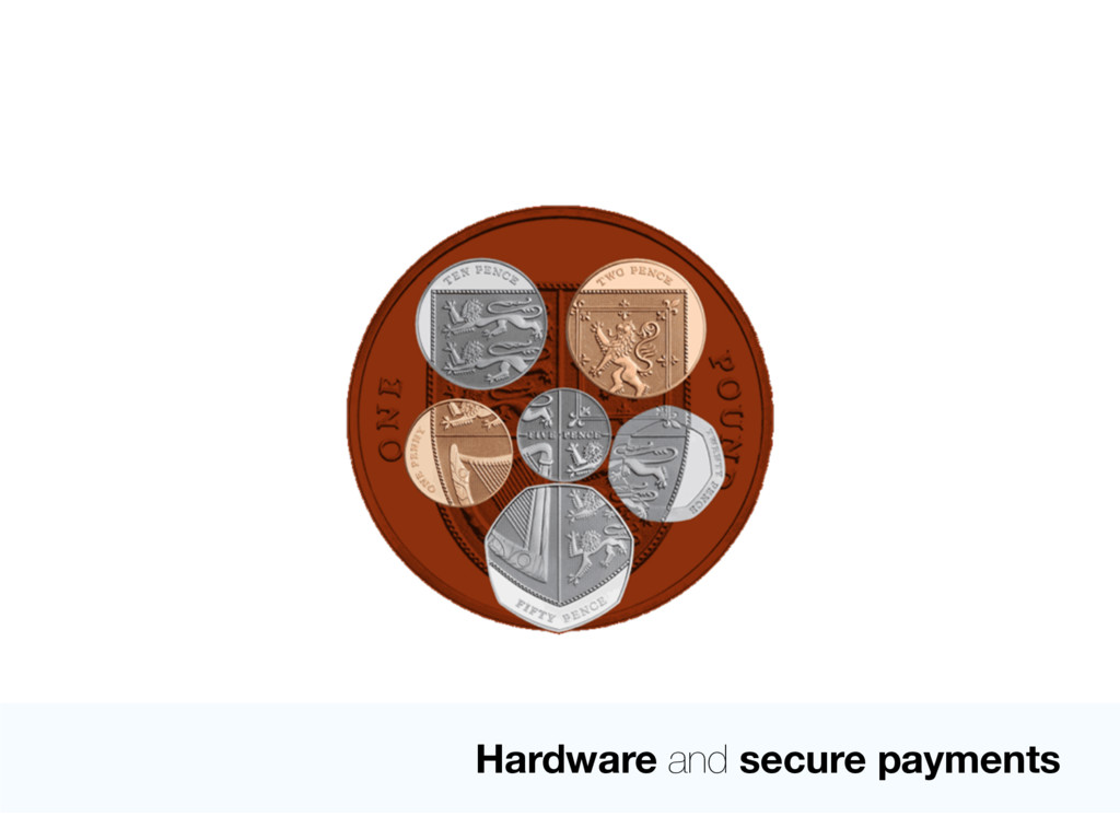 Hardware and secure payments