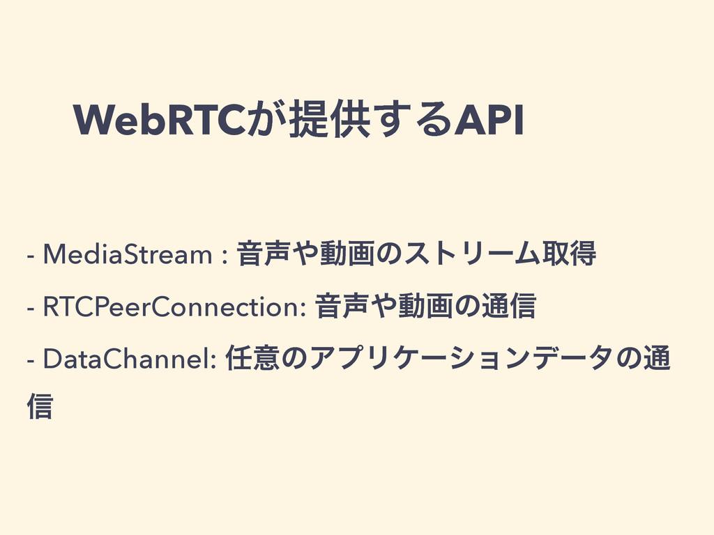 WebRTC͕ఏڙ͢ΔAPI - MediaStream : ԻಈըͷετϦʔϜऔಘ - ...