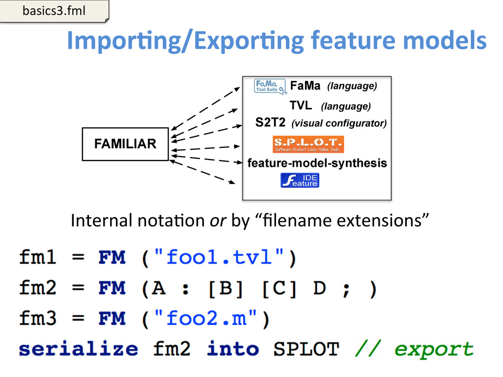 ImporCng/ExporCng feature models  101...