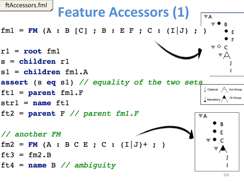 Feature Accessors (1)  102  6Access...