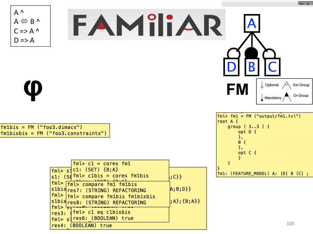 105  φ FM A ^  A ó B ^ ...