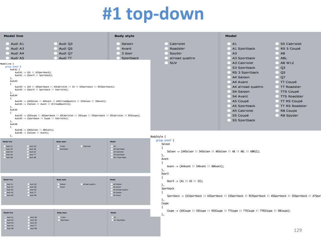 129  #1 top-‐down