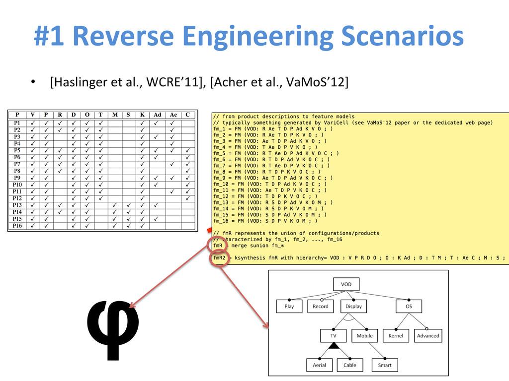 #1 Reverse Engineering Scenarios  •...