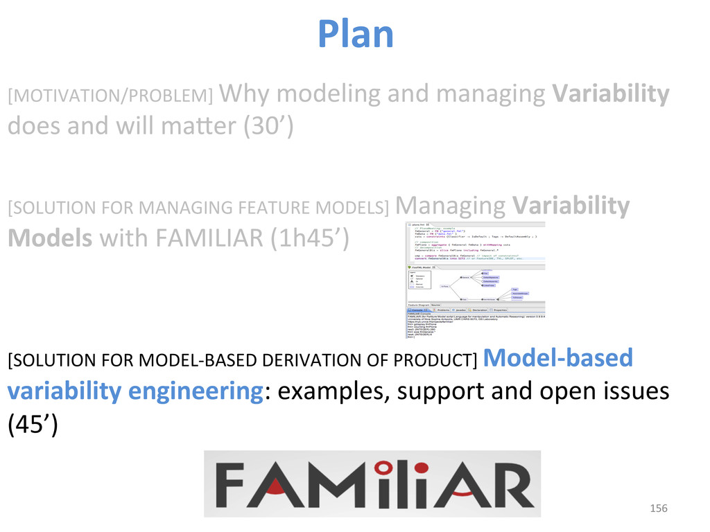 [MOTIVATION/PROBLEM] Why modeling and...